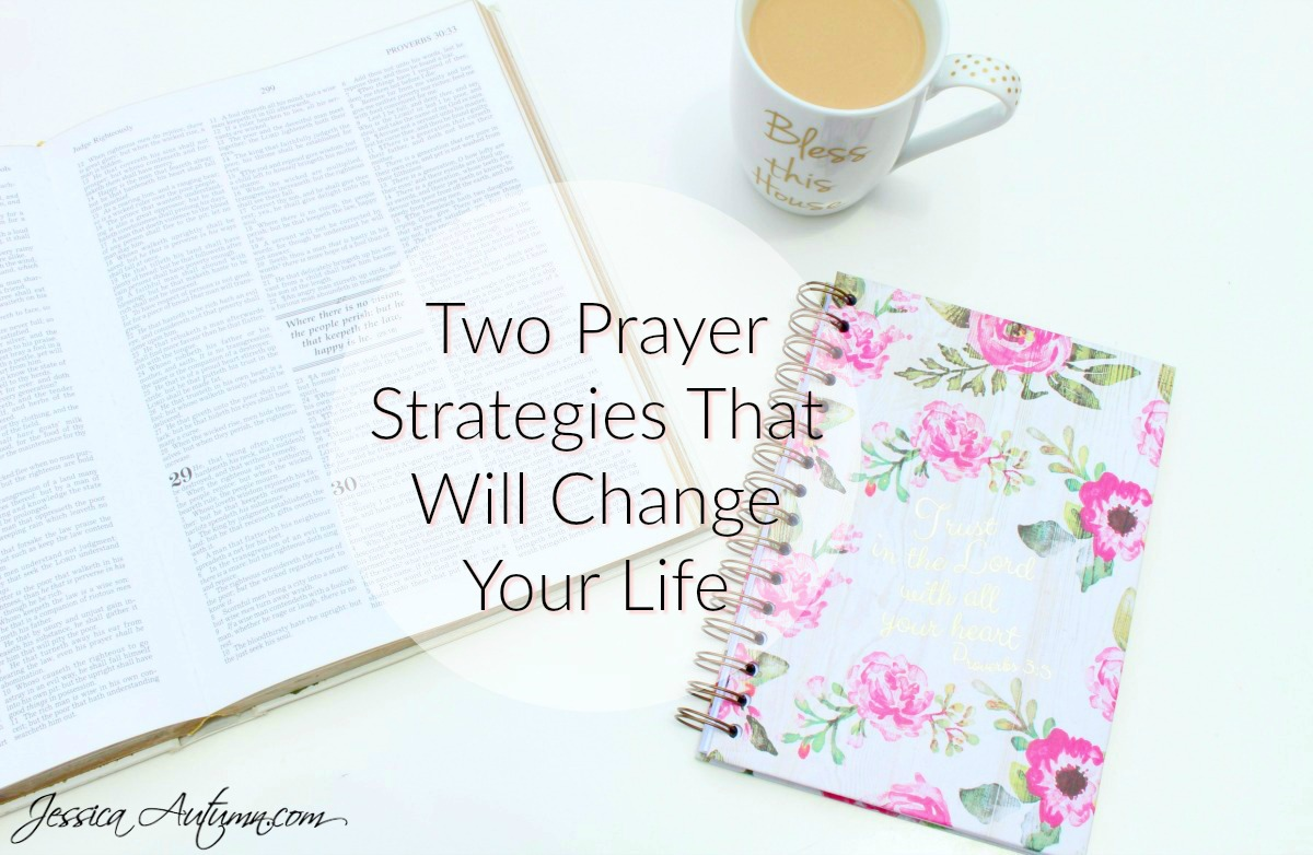 Two Prayer Strategies That Will Change Your Life. This is the BEST THING I've ever found on Pinterest! I've been working on strengthening my relationship with Jesus but have been struggling. I never thought about the first prayer strategy before. It's so easy and will help me to pray 500x more than I have been! This is a great read for my fellow Christians and people that are searching for God.