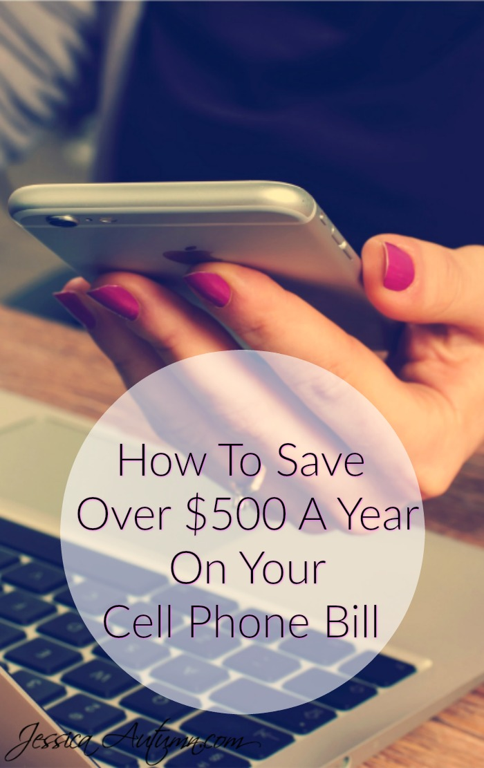 How To Save Over $500 A Year On Your Cell Phone Bill. I never would have thought of this! I spend way too much money on my cell phone bill, but I figured who doesn't these days? This is a great article and I am definitely going to take her advice!