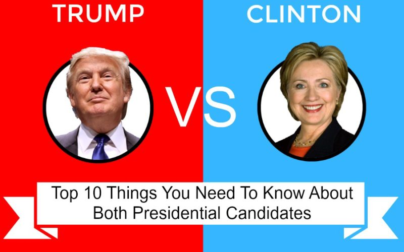 Top 10 Things You Need To Know About Both Presidential Candidates