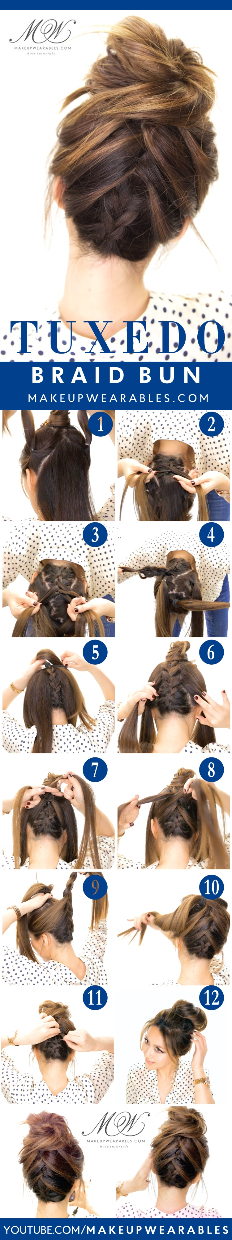 10 Easy And Cute Hair Tutorials For Any Occassion