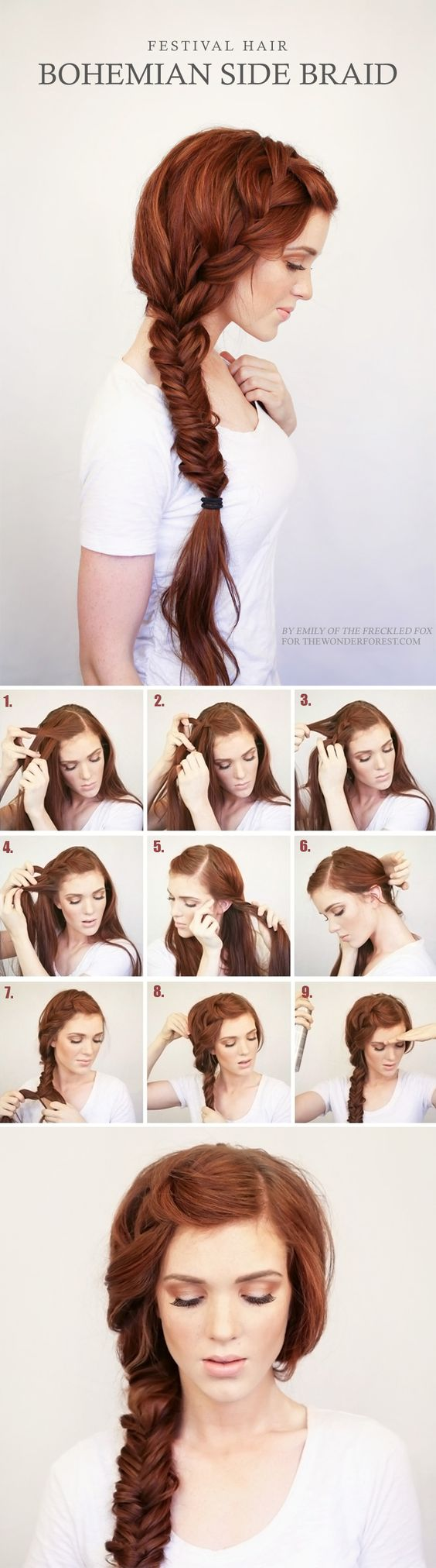 18 Easy And Cute Hair Tutorials For Any Occassion