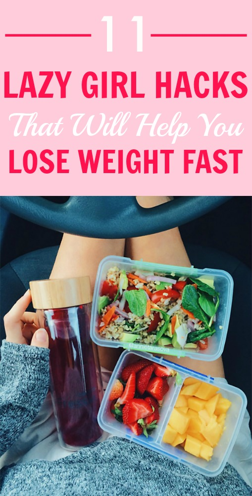 11 lazy girl hacks that will help you lose weight fast 11 lazy girl hacks that will help you lose weight fast looking for an easy ccuart Choice Image
