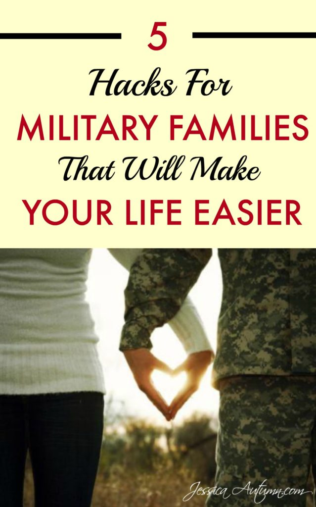 5 Hacks For Military Families That Will Make Your Life Easier. These 5 hacks for military families are fairly basic, but you are sure to find out some little-known tricks you had no idea about before that will make your life so much easier! #CORTforMilitary #sponsored