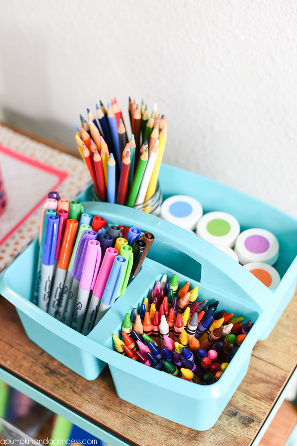 Kid School Supply Organization