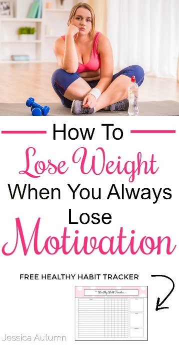 How To Lose Weight When You Always Lose Motivation. I love this! Such a great idea. I always get so overwhelmed trying to do everything at once and give up. Thanks for sharing :) #weightloss #fitness #challenge