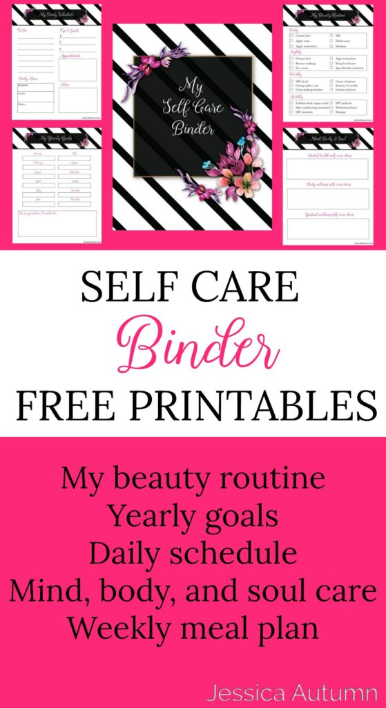 Self Care Binder Free Printables